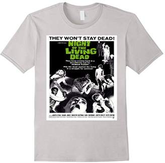 Night of Living Dead - Vintage Zombie Movie T Shirt