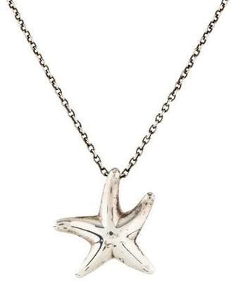 Tiffany & Co. Starfish Pendant Necklace