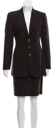 Jean Paul Gaultier Wool Skirt Suit