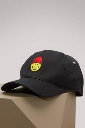 Ami Smiley cotton cap