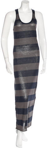 Alice + Olivia Alice + Olivia Striped Maxi Dress