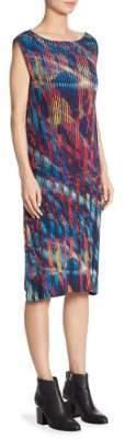 Issey Miyake Double Stream Pleated Dress