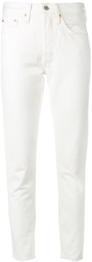 Levi's White Jeans For Women - ShopStyle Australia