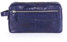 Santiago Gonzalez Crocodile Toiletry Case