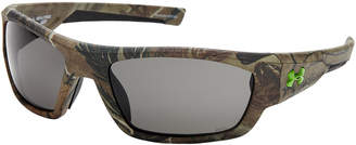 Under Armour Army Green Force Wrap Around Sunglasses