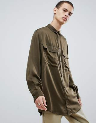 Weekday Orbit Cargo Shirt