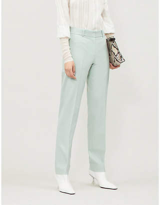Victoria Beckham Victoria Straight high-rise twill trousers