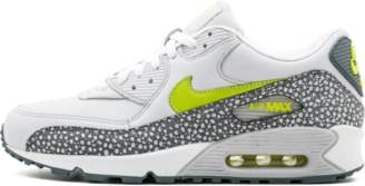 Nike 90 Leather - Neutral Grey/Bright Cactus