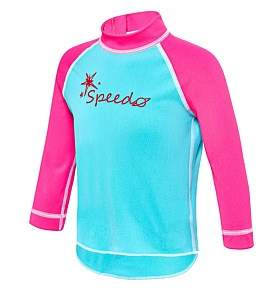 Speedo Logo Heat Reactive Sun Top