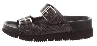 Ash Sequin Slide Sandals
