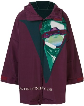 Undercover x Valentino hooded parka