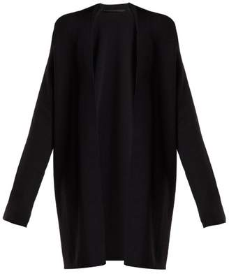 Haider Ackermann Stormont Wool Blend Cardigan - Womens - Black
