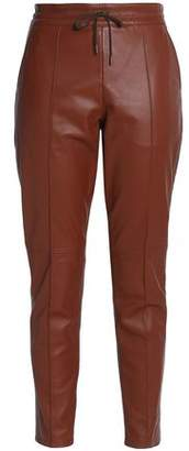 Joseph Leather Tapered Pants