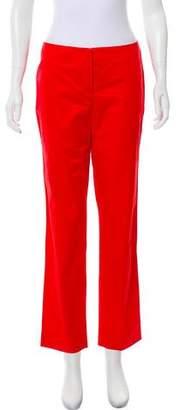 Armani Collezioni Mid-Rise Straight-Leg Pants w/ Tags