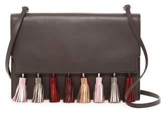Rebecca Minkoff Sofia Leather Tassel Clutch