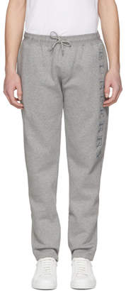 Burberry Grey Nickford Embroidered Lounge Pants