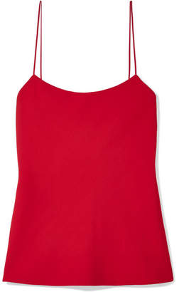 The Row Biggings Stretch-silk Georgette Camisole - Red