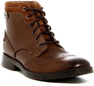 Clarks Devington Hi Boot $115 thestylecure.com