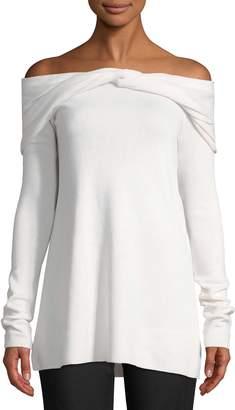 Derek Lam Women's Twist Cashmere Sweater