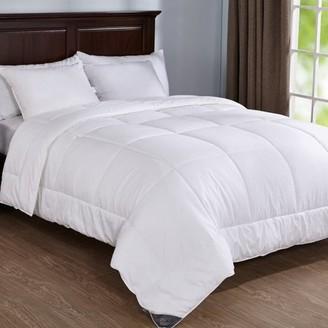 Pure Down Puredown 400 Thread Count Warmth Down Alternative Year Round Comforter Duvet Insert, Twin