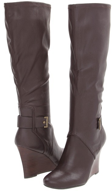 Nine West Goodness (Brown Synthetic) - Footwear