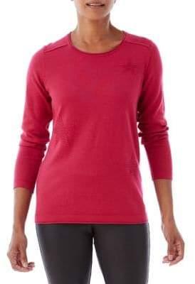 Olsen Berry Love Star Stitch Sweater