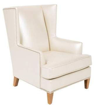Mitchell Gold + Bob Williams The Good Wife Leather Wingback Chair