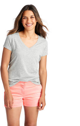 Vineyard Vines Heathered Cozy V-Neck Tee