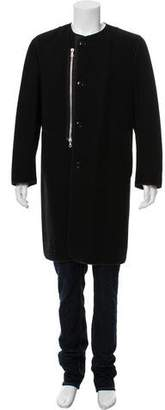 Dries Van Noten Long Wool Coat
