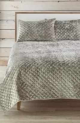 levtex crushed velvet quilt - Velvet Bedding