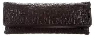 Herve Leger Embroidered Oversize Clutch w/ Tags