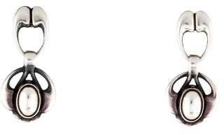 Georg Jensen Sculptural Drop Earrings