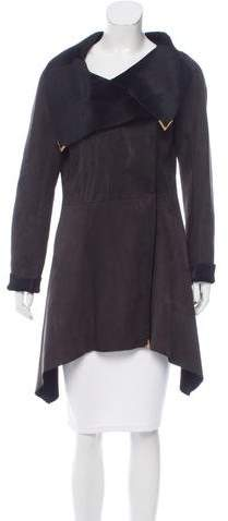 Fendi Reversible Suede Coat