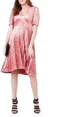 Spectre Pleat Dress