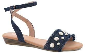 Refresh Elsa Ankle Strap Embellished Sandal
