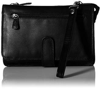 Derek Alexander Leather Derek Alexander Deluxe Clutch with Detachable Strap Messenger Bag