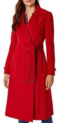 Karen Millen Belted Double-Breasted Coat - 100% Exclusive
