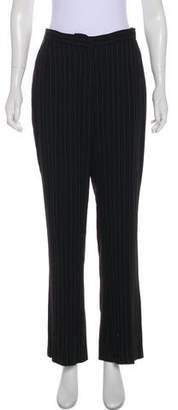 Lafayette 148 Striped Wide-Leg Pants