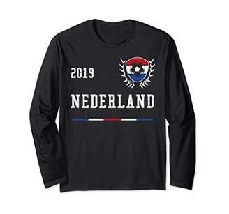 fc27ae010ba Nederland Football Jersey 2019 Dutch Soccer Long Sleeve