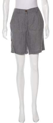 Eileen Fisher Mid-Rise Knee-Length Shorts