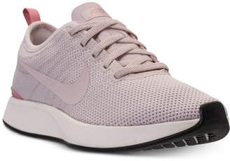 Nike Women's Dualtone Racer Casual Sneakers from Finish Line $89.99 thestylecure.com