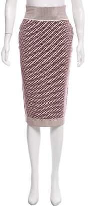 Tanya Taylor Wool Knit Skirt