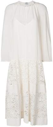 Baum und Pferdgarten sheer panel lace dress