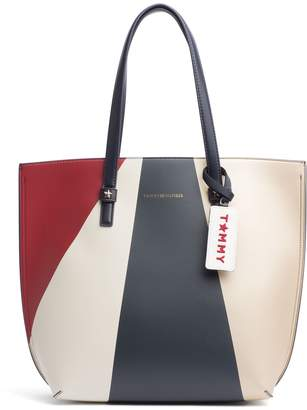 Tommy Hilfiger Large Colorblock Tote