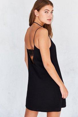 Kimchi Blue Lace Bandeau Back Mini Slip Dress $59 thestylecure.com