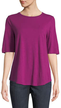 Eileen Fisher Organic Cotton Slub Top