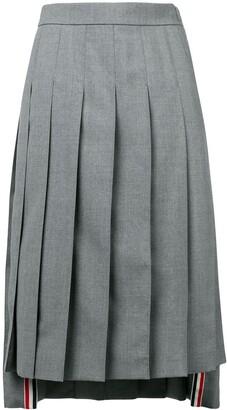 Thom Browne School Uniform Pleated Skirt