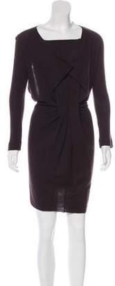 Roland Mouret Long Sleeve Knit Dress