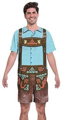 Faux Real Men's Oktoberfest Adult Romper