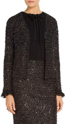 St. John Sparkle Fil Coupe Knit Jacket